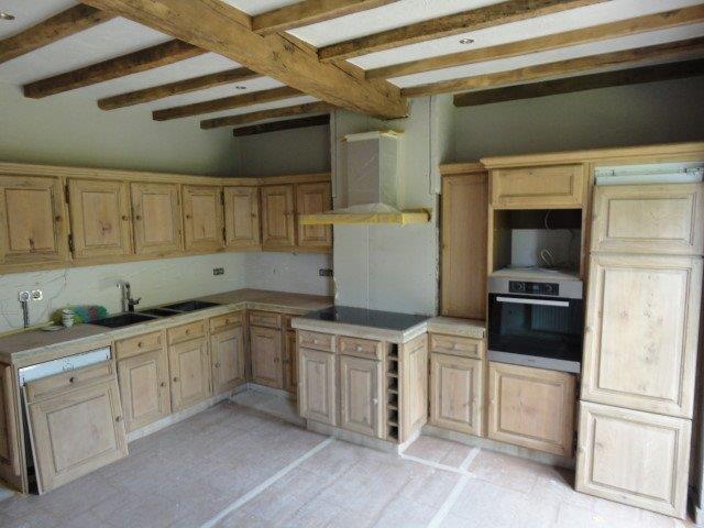 Eiken Keuken Zandstralen : keukens deze unieke keuken had een diep donkerbruine kleur dankzij de